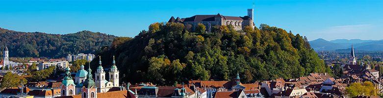 Ljubljana, castle hill